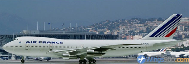 Air France Airlines Boeing B747-128 Reg. F-BPVE