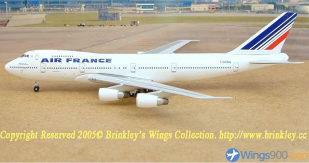 Air France Airlines Boeing B747-228 Reg. F-GCBA