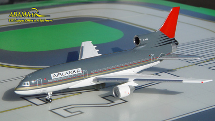 Air Lanka Airlines Lockheed L-1011-500 Reg. JY-AGB