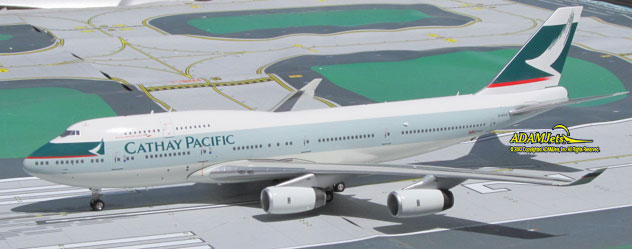 Cathay Pacific Airways^Boeing B747-467 Reg. B-HOW, DEFECTIVE or DAMAGED