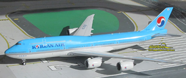 Korean Air Airlines Boeing B747-8B5 Reg. HL7638
