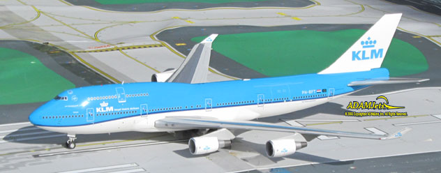 KLM - Royal Dutch Airlines Boeing B747-406M Reg. PH-BFT
