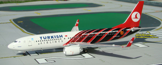 Turkish Airlines^Boeing B737-8F2 Reg. TC-JFV