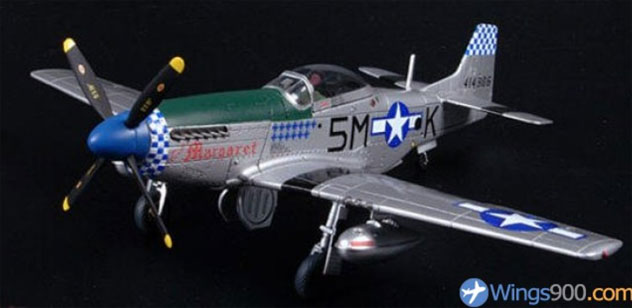 USA - Army Air Force North American F6-D-25-NT Mustang Reg. 44-14306/5M-K.