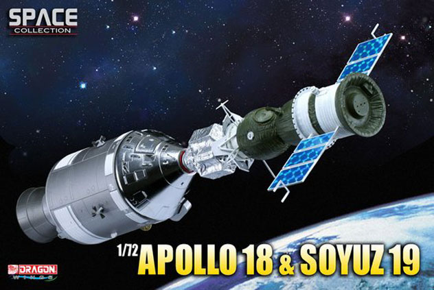 NASA Apollo-Soyuz Test Project (ASTP) USA Apollo 18 and USSR Soyuz 19