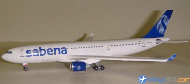 Sabena Airlines Airbus A330-223 Reg. OO-SFS