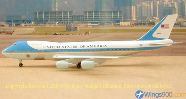 USAF - Air Force One Boeing B747-2G4B Reg. SAM-29000