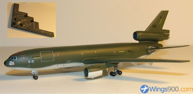 USAF - Air Force McDonnell Douglas KC-10A & B-2 Bomber Twin Pack
