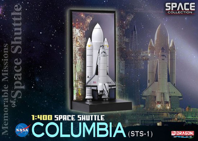 NASA Space Shuttle Orbiter^Columbia & SRB's Reg. OV-102
