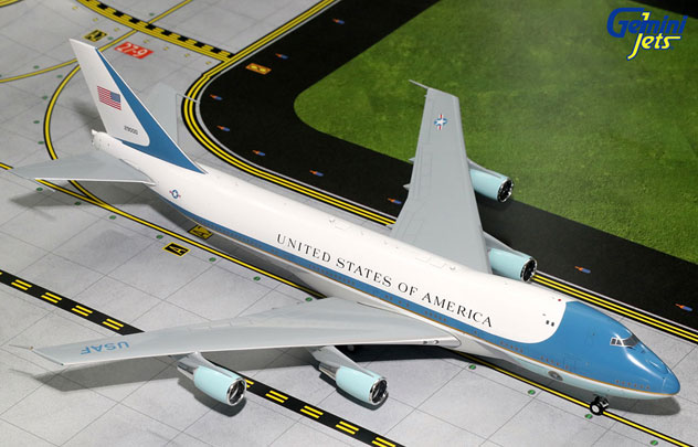 USAF – Air Force One Boeing B747-2G4B VC-25A Reg. SAM-92-9000