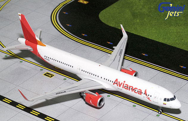 Avianca Colombia Airlines^Airbus A321-253/Neo Reg. N859AV