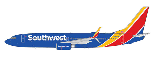 Southwest Airlines Boeing B737-8H4 Reg. N8653A