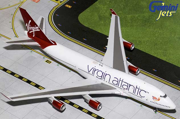Virging Atlantic Airways Boeing B747-4Q8 Reg. G-VBIG