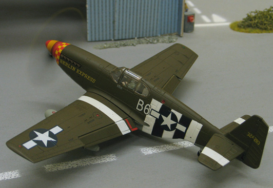 "USAF - Air Force North American P-51 Mustang ""Berlin Express"""