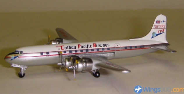 Cathay Pacific Airways Douglas DC-6B Reg. VR-HFX