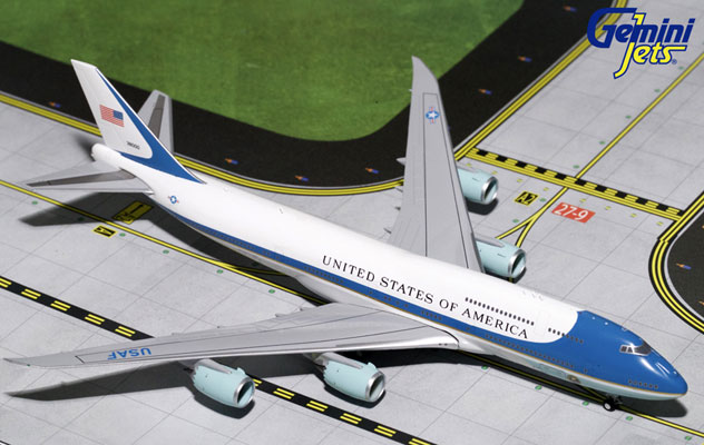 USAF - Air Force One Boeing B747-8I Reg. SAM-38000