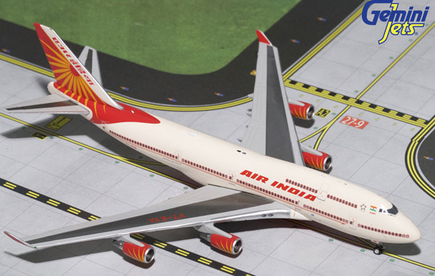 Air India Airlines Boeing B747-437 Reg. VT-EVA