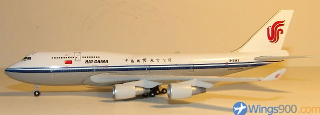 Air China Airlines Boeing B747-4J6 Reg. B-2447