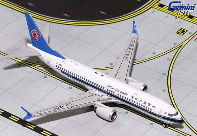 China Southern Airlines^Boeing B737-8Max Reg. B-1205