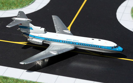 Kuwait Airways Hawker Trident 1E Reg. 9K-ACF