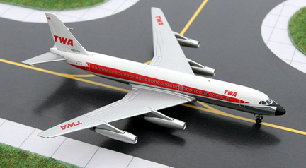 TWA - Trans World Airways Convair CV-880-22-1 Reg. N802TW