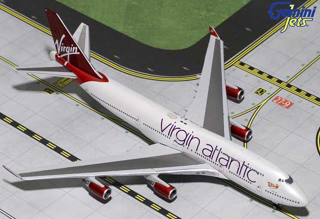 Virgin Atlantic Airways Boeing 747-4Q8 Reg, G-VBIG