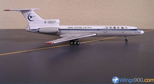 "China Xinjiang Airlines Tupolev TU-154M ""B-2607"""