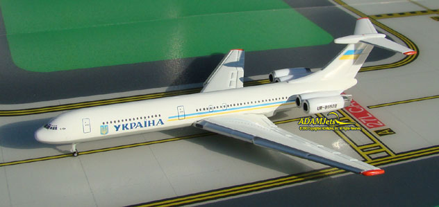 Ukraine Government Ilyushin IL-62 Reg. UR-86528