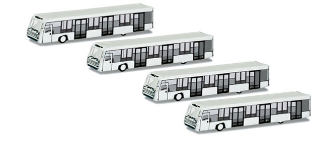 Herpa Accessories Airport Bus Set in 1/500 Scale