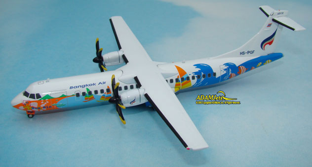Bangkok Airways ATR-72-212A Reg. HS-PGF
