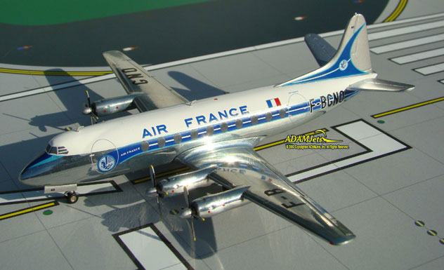 Air France Airlines Viscount 708 Reg. F-BGNO