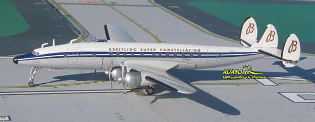 SCFA Breitling - Super Constellation Flyers Association Lockheed L-1049H Reg. HB-RSC
