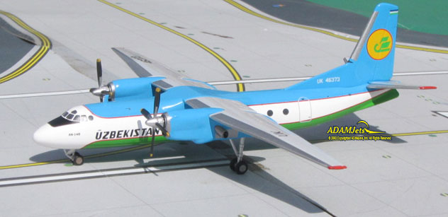 Uzbekistan Airways Antonov AN-24B Reg. UK-46373.