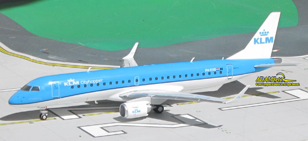 KLM - Royal Dutch Airlines Embraer ERJ-190 PH-