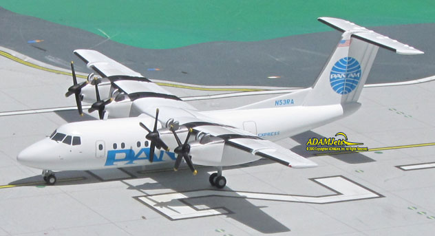 Pan Am Express Airlines DeHavilland DHC-7-102 Dash 7 Reg. N53RA