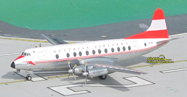 Austrian Airlines Vickers Viscount 837 Reg. OE-LAH