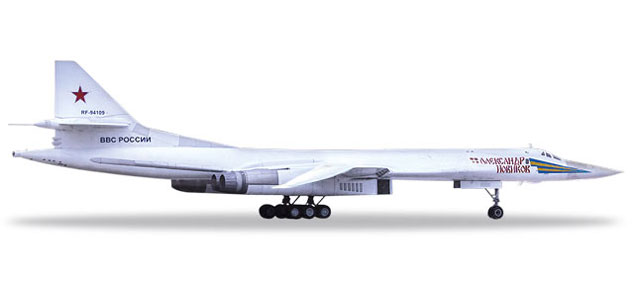 Russian Air Force Tupolev TU-160 Reg. RF-94109/12