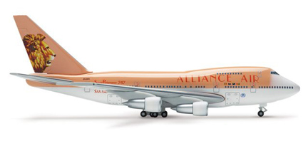 Alliance Air Boeing B747-SP-44 Reg. ZS-SPA