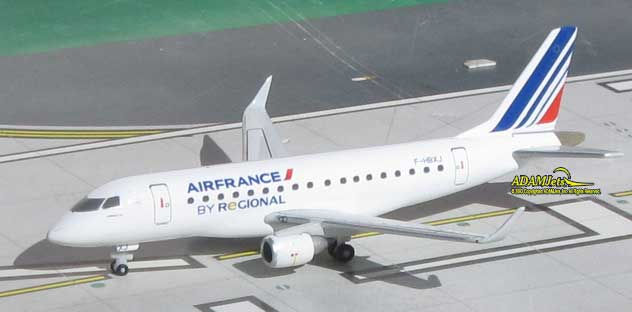 Air France Regional Airlines Embraer ERJ-170ST Reg. F-HBXJ