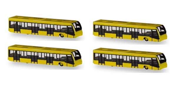 Herpa Accessories Airport Bus Set in 1/400 Scale