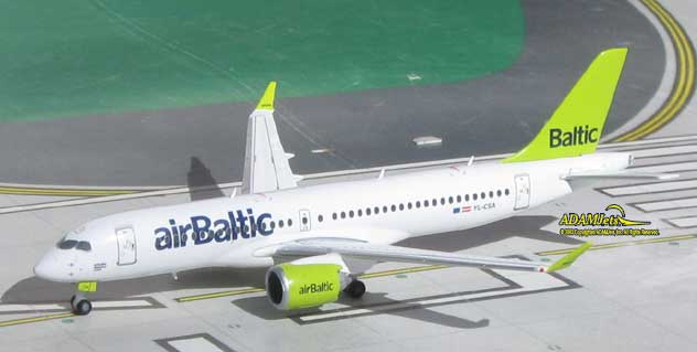 Air Baltic Airlines^Bombardier CS300 Reg. YL-CSA