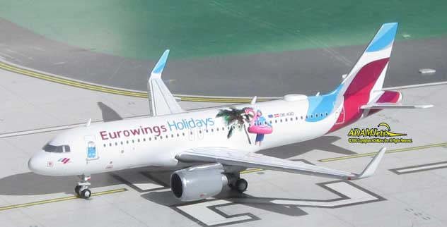 Eurowings Europe Airlines Airbus A320-214 Reg. OE-IQD