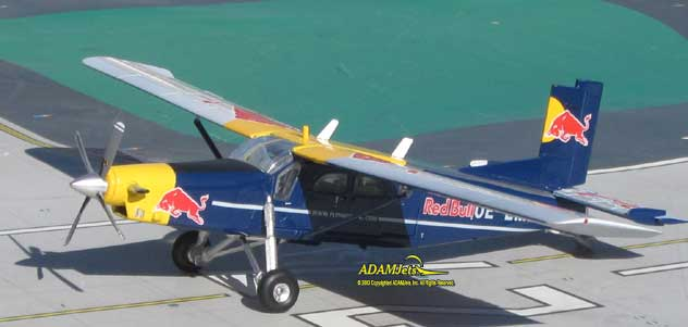 The Flying Red Bulls^Pilatus PC-6/B2 Turbo Porter Reg. OE-EMD