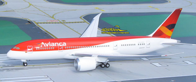 Avianca Colombia Airlines Boeing B787-8 Reg. N/A