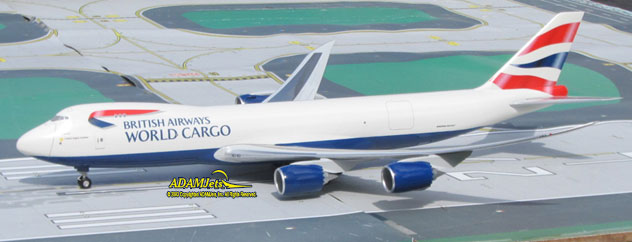 British Airways Cargo^Boeing B747- 87UF/SCD Reg. N/A