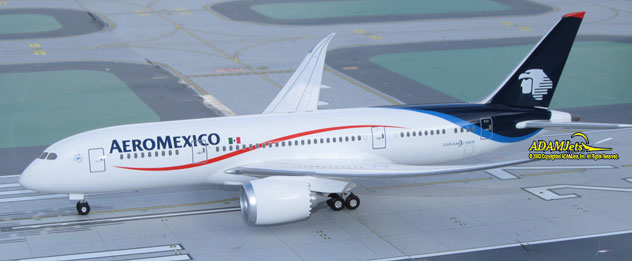 AeroMexico Airlines Boeing B787-8 Dreamliner Reg. N/A