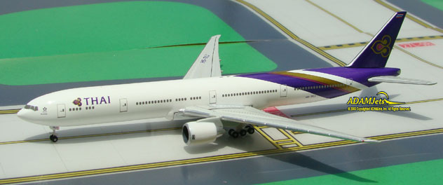 THAI Intl Airways Boeing B777-3D7/ER Reg. HS-TKJ