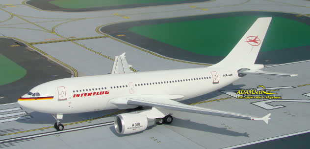 Interflug Airlines Airbus A310-304 Reg. DDR-ABB
