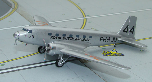 KLM - Royal Dutch Airlines Douglas DC-2-115E Reg. PH-AKH