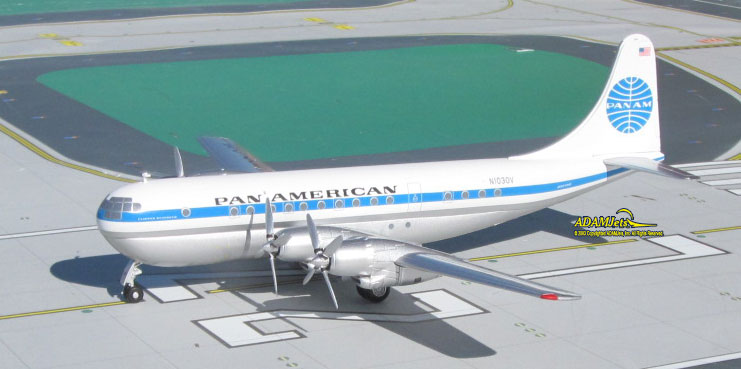 Pan American World Airways Boeing B377-10-26 Reg. N1030V